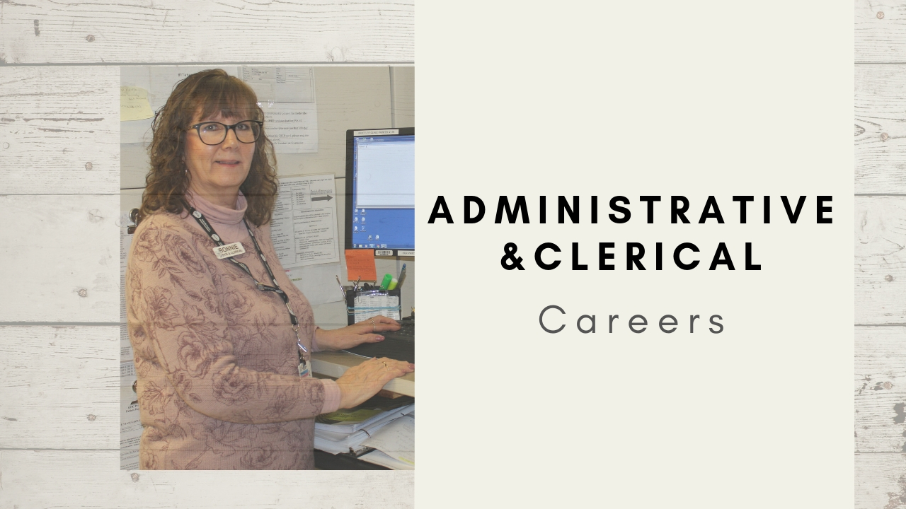 administrative and clerical careers