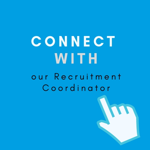 connect with a recruitment coordinator