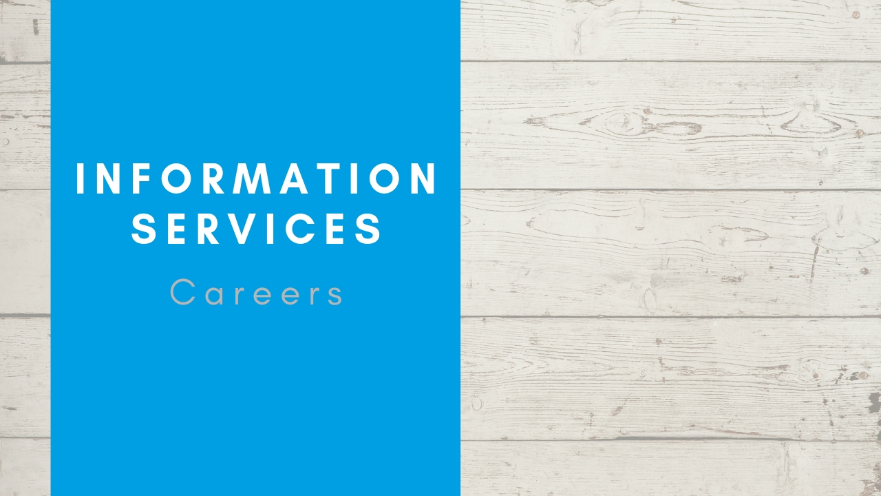 information services careers
