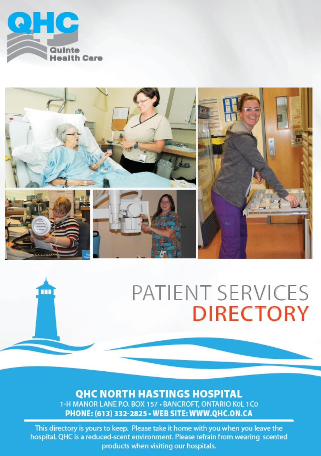 NHH Patient Services Directory