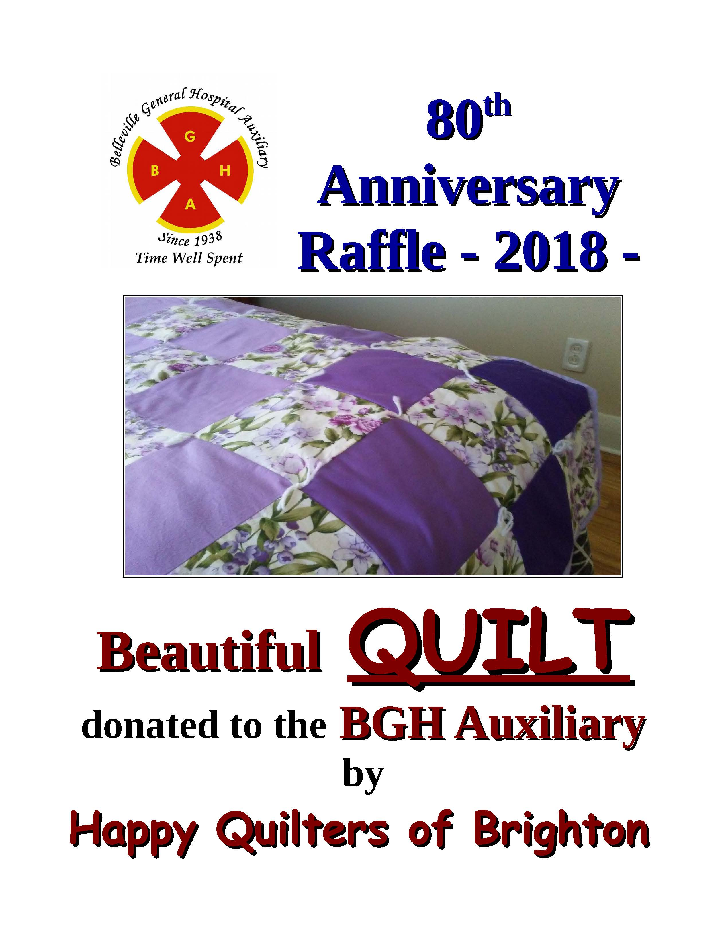 raffle draw for quilt