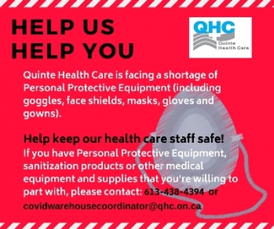 How to donate personal protective equipment (PPE)
