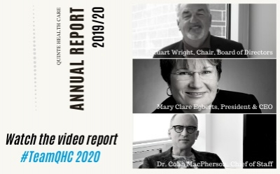 #TeamQHC Annual Report Video