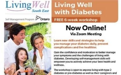 Living Well With Diabetes - Free online 6-week workshop