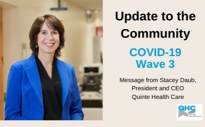 Update to the community - COVID Wave 3