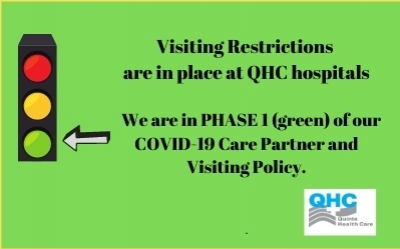 Changes to QHC's Visiting Restrictions