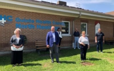 MPP Todd Smith announces additional funding for QHC